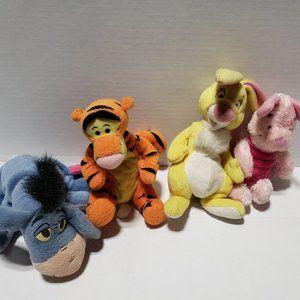 Disney Winnie The Pooh Stuffed Animal Lot